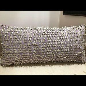 Missoni lavender pillow